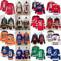 Connor McDavid Edmonton 저지 저지 알렉스 오프 킨 워싱턴 수도권 Marc-Andre Fleury Stamkos Mathew Barzal Nhl Hockey