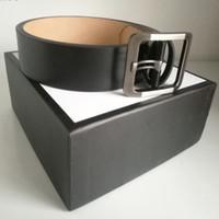أزياء شعبية نسخة عالية حزام من الجلد الحقيقي للنساء الأعمال عارضة عشاق حفل زفاف هدية مصمم فاخر حزام مع الأصل BOX