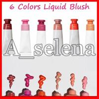 Face Maquillage Blush Cosmetics 5 Couleurs Liquide Blush Storm Haze Faisceau Dublique Feuillard Feuillard Drop Expédition Top Qualité