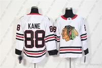 Cheap Custom Men' s Chicago Blackhawks 88 Patrick Kane W...