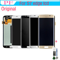 Original LCD For Samsung S7 Edge LCD Touch Screen Digitizer ...