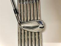 8pcs JPX919 Golf Clubs JPX919 Iron Set JPX919 Golf Forged Irons Golf Clubs 4-9PG R / S Flex eixo de aço com tampa da cabeça
