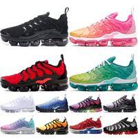 Vente en gros-2018 New Hot ventes Mens athlétique London Olympic TANJUN PREM gris avec noir Chaussures de course Marque Adulte Noir Sport Run Sneakers