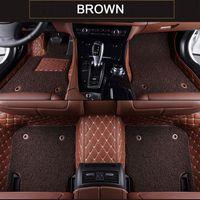 Piso Mats Car personalizado para Land Rover modelos Discovery 3 4 5 Rover Range Evoque Esporte Freelander viaturas auto tapete acessórios