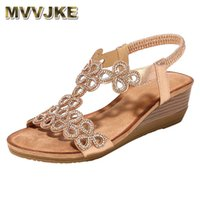 Sapatos de vestido MVVJKE Platform Sandals Mulheres Escavar Peep Toe Wedges High Heeled Zapatos Mujer Tacon Chaussures Femme