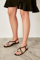 Trendyol Black Women Sandals TAKSS19OZ0039