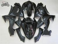 Kostenlose benutzerdefinierte Verkleidungsset für Kawasaki Ninja ZX10R 2006 2007 Chinesische Black Body Repair Fostings Teile ZX-10R 06 07 ZX 10R