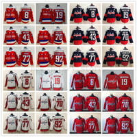 Washington Capitals 8 Alex Ovechkin Jersey Hockey Nicklas Bäckström Tom Wilson Braden Holtby T. J. Oshie Evgeny Kuznetsov Mann Frauen Jugend