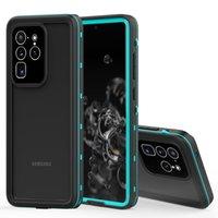 غلاف هاتف Iphone 11 pro max Samsung Galaxy S20 Ultra S20 + بالإضافة إلى غلاف خلفي يلتقط صورا تحت الماء