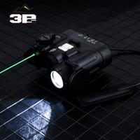 새로운 서바이벌 DBAL-D2 IR 레이저 녹색 레이저 LED 토치 DBAL-EMKII 전술 손전등 DBAL D2 Weapen 빛 사냥 액세서리