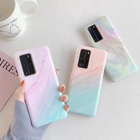 Marble Texture Soft Silicon TPU Phone Case for Samsung S20 P...