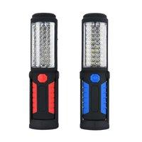 Tragbare Laternen LED-Notlicht im Freien super helle Arbeit wiederaufladbare magnetische flexible Inspektionslampe für Lagerjagd
