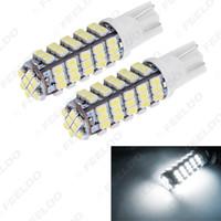 10шт Белый T10 194 Клин 68-SMD 1206/3020 Автомобильные светодиодные лампы лампы свет Рединг двери свет # 1477