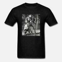 Drôle hommes t-shirt Les femmes t-shirt nouveauté Templier médiéval ordre DRAPEAU épée T-shirt