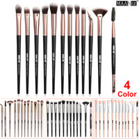 Augen Make-up Pinsel Puder Foundation Lidschatten Pinsel Augenbrauen Wimpern Eyeliner Blending Pinsel Set Kosmetik Make-up Pinsel 12-teiliges Set