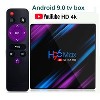 H96 Max Android 9. 0 TV BOX CPU Rockchip RK3318 RAM 4GB ROM 3...