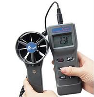 새로운 고정밀 핸드 헬드 공기 흐름 미터 AZ8902 풍속계 휴대용 풍속 측정 장비 공기 온도계 측정기