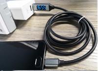 전류 선 지능형 디스플레이 전압 데이터 선 빠른 선 충전 3A 휴대 전화를 충전