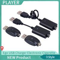 Ego USB Şarj Elektronik Sigara E Çiğ Kablosuz Şarj Kablosu Için 510 Ego T C EVOD Büküm görüş spinner 2 3 mini pil