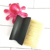 Doux Nettoyage Brosse à cheveux cou visage poussière cassé Supprimer peigne Barber coupe de cheveux Blaireau Hair Style bricolage Accessoires