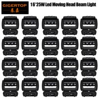 Rabatt Preis 20 Stück NEU 16x25w RGBW 4in1 Spinne bunter LED-Lichtstrahl-bewegliches Hauptlicht gut für die Partei