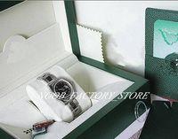 Luxus Neue Fabrik 2813 Automatische Bewegung 31mm Frauen Damen SS Black Roman Date Just # 179160 Mit Original Box Tauchuhr