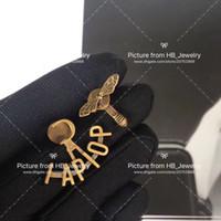 С логотипом и коробкой Письмо Дизайнер Серьги DES Bougets D'Oreilles Для Женщин Обручальные Свадьбы Роскошные Ювелирные Изделия Пары Любовник Подарок 0328