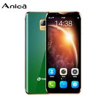 """مفتوح 4G LTE I10 الهاتف المحمول مصغرة الهاتف الذكي المحمول 4G LTE Telefone 3.5 """"الهاتف الخليوي فتح الأصلي مع سوق اللعب للمراهقين"""