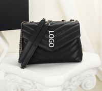 حقائب مصمم لو لو المرأة فاخر مصمم محفظة جلد الغنم جلد طبيعي العلامة التجارية سلسلة الكتف محفظة حقيبة
