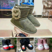 Kids warm martin boots 3 colors spring autumn winter infants...