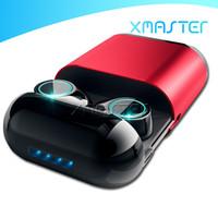 S7 TWS Bezprzewodowe Słuchawki Binaural 2019 Nowa Moda Bluetooth 5.0 Zestaw HandsFree Słuchawki Sport Gaming Wodoodporny i Słuchawki Słuchawki XMaster