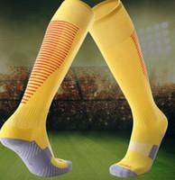 Dorosłych dzieci nie poślizg na kolano skarpetki piłkarskie Zagęszczone ręcznik Dolna Skarpety Długie Skarpety Wygodne Odporne na ubrania Skarpetki Sportowe Fitness
