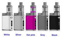 Pico 75W Starter Kit 18650 TC Mod Melo III 3 Mini réservoir Atomiseur contrôle Airflow Invisible Vape Box Mod Kit