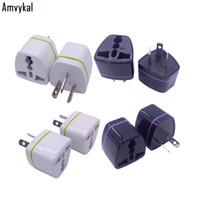 Amvykal Uluslararası Evrensel ABD UK AB için AU Tak Adaptörü Dönüştürücü AU Seyahat Güç Elektrik Fiş Adaptörü Avustralya Soket