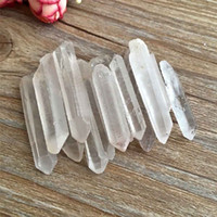 10Pcs Clear Natural Crystal Quartz Cluster DIY Crystal Point...
