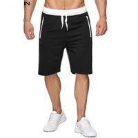 Yaz Yeni Spor Sokak Stili Şort Eğilim Rahat Pantolon Elastik Gri Rahat Şort Erkek Tasarımcı Kısa Pantolon Koşu Sweatpants