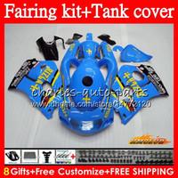 Rizla Blue Body + Suzuki Srad Gsxr 600 750 GSX R750 R600 GSXR750 64HC.143 GSXR600 96 97 98 99 00 1996 1997 1998 1999 2000 Fairing