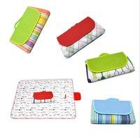 Tragbare Mat handliche Matte mit Bügel ideal für Picknicks Strände RV und Ausflüge Wetter-Proof und Mold Mildew Resistan Außen Garden Supplies