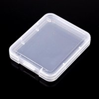 Card Container Small Box Protection Case Memory Card Boxs Tool Plastic Transparent Storage Easy To Carry Practical Reuse 0 141f H R