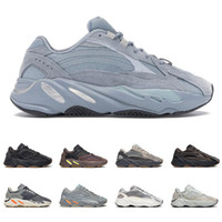 adidas yeezy boost 700 v2 kanye west Hospital Blue hombres mujeres zapatillas de deporte 3m reflective Magnet Utility Black Inertia static mens trainers fashion sports sneakers