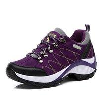Zapatos mujer zapatos casuales zapatillas de deporte púrpura profundo mujer antideslizante amortiguación de aire tenis feminino espesor zapatos de fondo mujer canasta femme