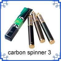 탄소 회 전자 3 배터리 1650 회 전자 III VV 배터리 탄소 섬유 완제품 가변 전압 3.3 ~ 4.8 vs 스피너 2 EVOD 배터리 0204107