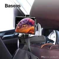 المقعد الخلفي سيارة حامل الهاتف Baseus هوك السحابة السيارات كليب الهاتف المحمول حامل المقعد الخلفي حقيبة المعلق كليب في سيارة للحصول على XR XIAOMI
