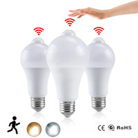 Night Light LED Bulb PIR Sensor Motion AC 85-265V B22 E27 LED Bulb Lamp 12W 15W 18W 20W Dusk to Dawn Light for Home