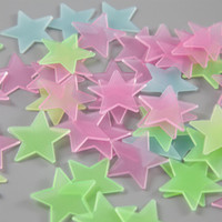 Familie 3D Sterne Glühen in den dunklen Wandaufkleber Leuchtende Fluoreszierende für Kinder Babyzimmer Schlafzimmer Decke Home Decor Designer