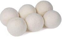 7cm Wolltrocknerkugeln Wäscheprodukte Natürliche Stoff Weichmacher Reiner Organisch wiederverwendbarer Ball für statisches Waschen Rettung Trocknungszeit Home