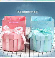 DIY Surprise Love Explosion Box Gift Explosion for Anniversa...