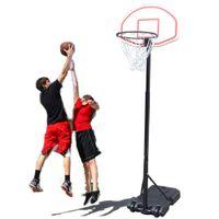 Basquetebol de crianças de basquete portátil Basketball Altura ajustável com inflador Grupo Boys Indoor Sports Hot Item