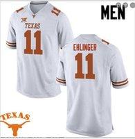 Пользовательские Мужчины Молодежные женщины Texas Longhorns Sam Ehlinger # 11 Футбол Джерси размер s-5XL или пользовательские любое имя или номер джерси
