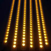 LED Wall Washer 24W DMX 512 AC85-265V RGB Led luzes de inundação IP65 Outdoor Lamps Jardim Edifício Paisagem Ponte